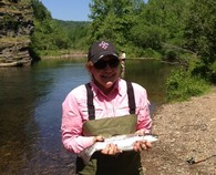 Fly Fishing Guide Service For Trout On The Lower Mountain